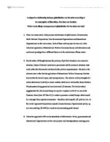 Liberalism international relations essay