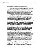 Historical context and policy making essay