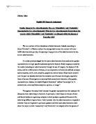 Gender discrimination opinion essay structure