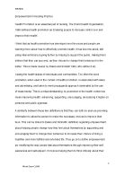 Essay On Cow In English The Relationship Between Empowerment And Health Promotion Is Discussed In  Persuasive Essay Topics For High School also Persuasive Essay Examples For High School A Critique Of A Current Health Promotion Leaflet Level   What Is Thesis In Essay