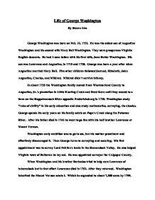 George Washington Essay In Hindi  Mistyhamel George Washington Essay Paper