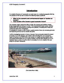 Gcse Geography Help With Coursework