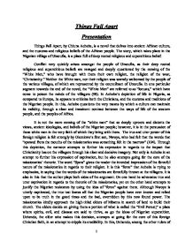 Graduating High School Essay Chinua Ac Essays Example Thesis Statement For Argumentative Critical Analysis Essay Example Paper also Topics For High School Essays Things Fall Apart Ap Essay Prompt  Mistyhamel Literary Essay Thesis Examples
