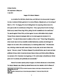 newspaper report essay sample  mistyhamel the newspaper essay boston massacre atslmyfreeipme photo